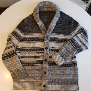 Large & Warm Button Down Knit Sweater Cardigan